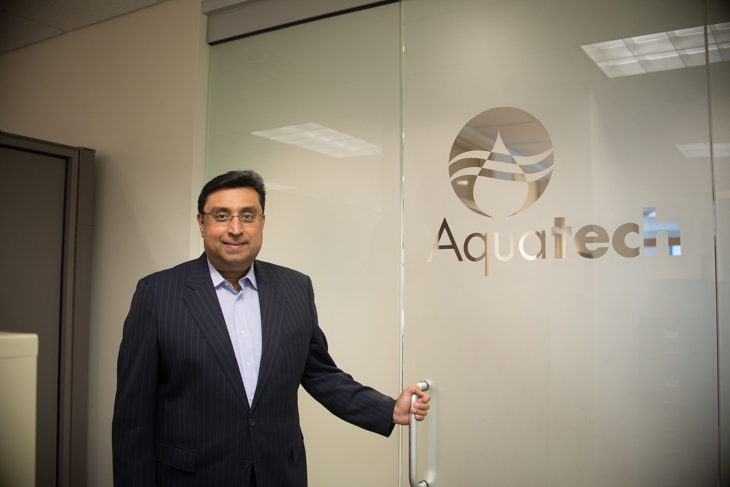 Venkee Sharma, CEO of Aquatech International_resized